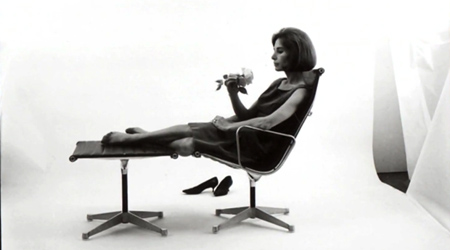 Ray & Charles Eames Chair Drehstuhl als Lounge Sessel