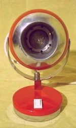 Düsenlampe - Jetdesign im Space / Atomic Age Stil