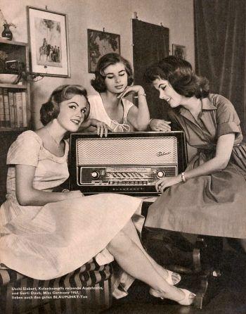 R hrenradios der 50er 60er jahre for Ohrensessel 50er 60er